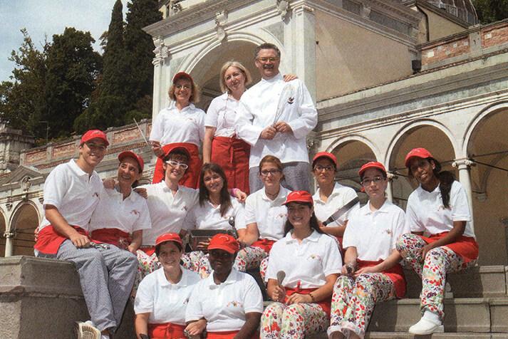 Staff 2010 Gelateria Timballo Fiordilatte Udine
