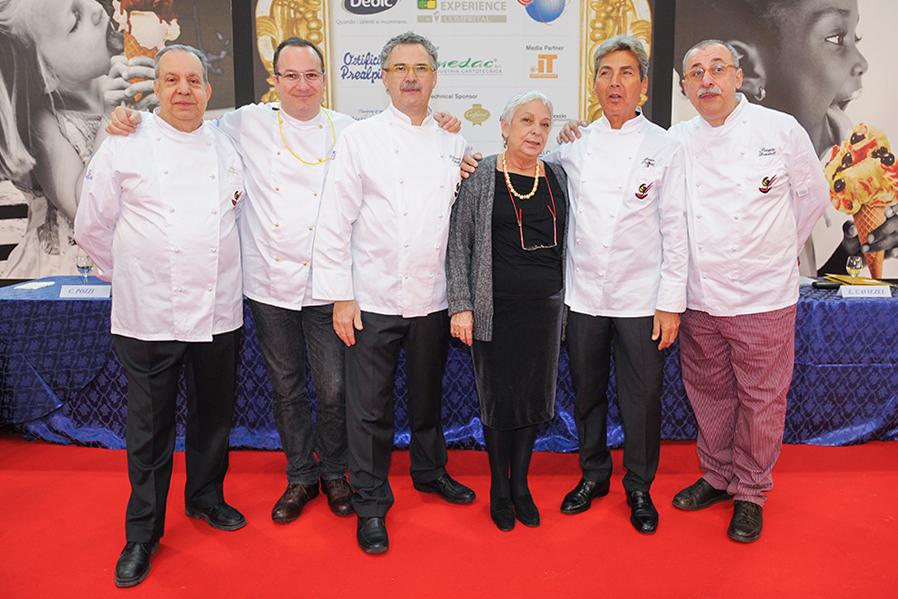 Comitato Organizzatore Coppa del Mondo della Gelateria Gelateria Timballo Fiordilatte Udine